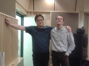S japonským skladatelem filmové hudby Oh Yo Sunem