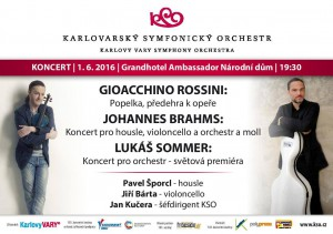 Koncert pro orchestr plakát